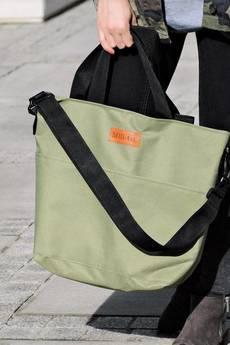Militu - Duża torba Miss Szoperka 2 - green