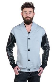 Slogan ubrania ekologiczne, etyczne i wegańskie - Chelsea bluza męska grey