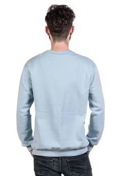 Slogan ubrania ekologiczne, etyczne i wegańskie - BLUE FISH by NRK męska grey