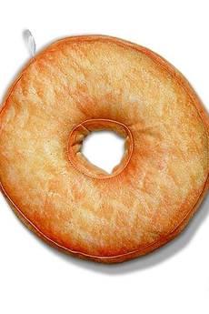 Poduszkownia - Poduszka pączek Donut mini różowy