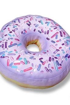 Poduszkownia - Poduszka pączek Donut mini jagodowy