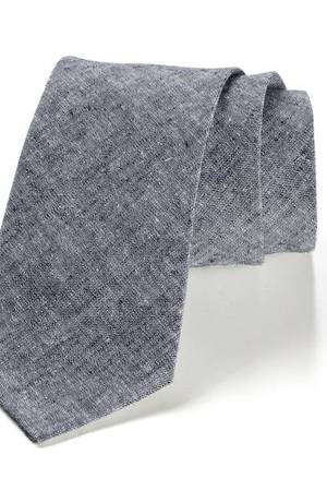 Krawat męski LINO len