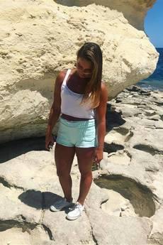 Button - GIRL SHORT PANTS mięta