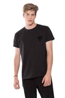 GAANEESH - T-SHIRT BLACK LOGO