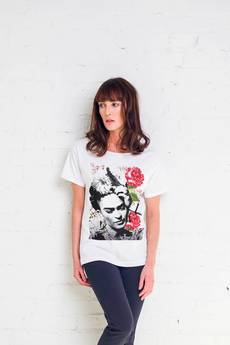 GAU great as You - FRIDA FLOWER t-shirt oversize
