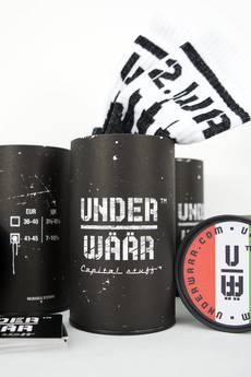 UNDERWÄÄR - SKARPETY W PUSZCE WAW.SUPPORTER [F.C.WAW] #WHITE