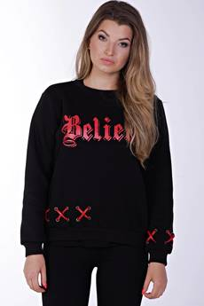 KingSize - Believe Black Sweatshirt