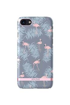 Creattack - Etui na iPhone 7 – Flamingo