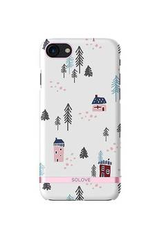 Creattack - Etui na iPhone 7 – Snow Town