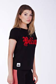 KingSize - Believe Black T-shirt