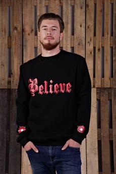 KingSize - Believe Black Sweatshirt