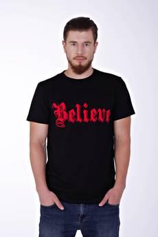 KingSize - Believe Black T-shirt