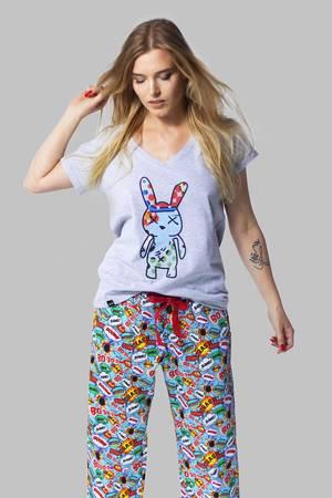 BASHFUL Boom Boom - Spodnie od piżamy - 67452