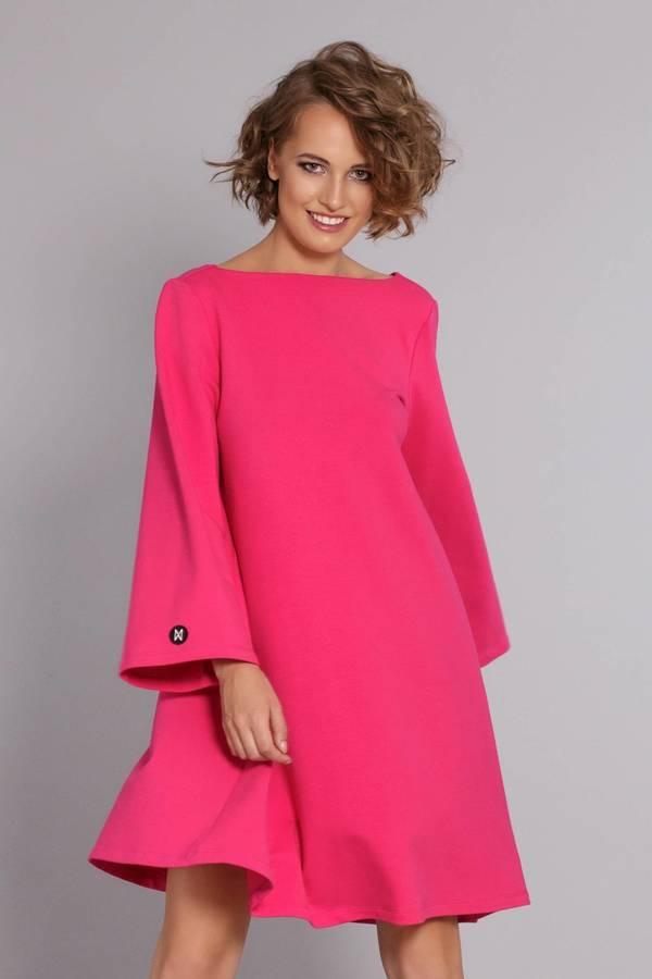 35bf296467 Sukienka Stylish Gal - Fuksja - Różowy