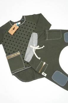 cudiKiDS - spodnie BAGGY bojowki