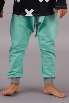 cudiKiDS - Miętowe spodnie BAGGY