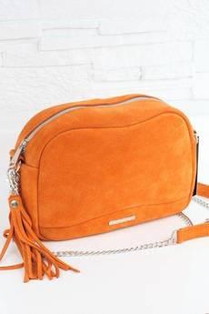 FABIOLA - Zamszowa Fabulous #9 pomarańczowa