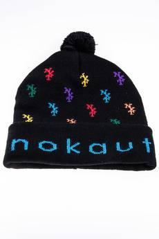 Nokaut Costume - Czapka zimowa monogram Czarna