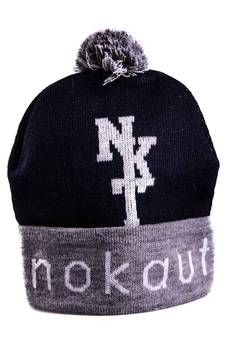 Nokaut Costume - Czapka zimowa granatowa NKT