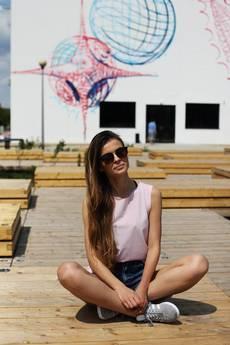 MKTP Mój Kraj Taki Piękny - Top Dziewczyna Surfera jasny róż