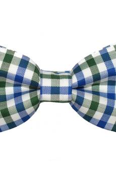 bowstyle - Mucha gotowa bowstyle Granatowa kratka