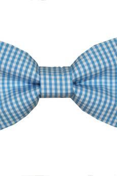 bowstyle - Mucha gotowa bowstyle Niebieska kratka