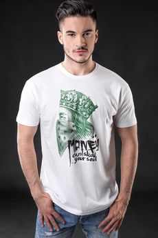 "UNICUT - T-shirt ""Money can steal your soul"" - Bohater x Romo_79"