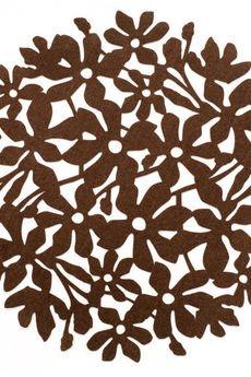 BOOGIE - FLOWER POWER kpl. 4 okrągłych podkładek pod talerz