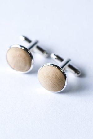 Drewniane spinki - 68378