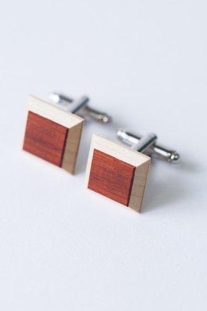 Drewniane spinki - 68380
