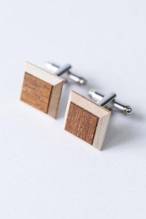 Drewniane spinki - 68381