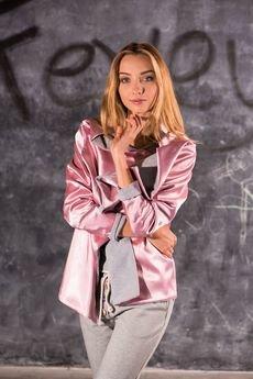 Fevey - Narzutka dwustronna Pink Pastel