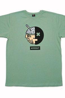 "UNICUT - T-shirt ""Different"" - Bohater x Jurek Tchórzewski"
