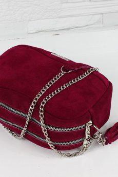 FABIOLA - Zamszowa Fabulous II Cardinal
