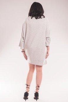 Soleil - Sukienka z zamkiem SL2158 Size Plus