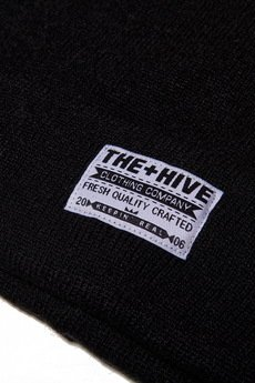 The Hive - CLASSIC BEANIE IN BLACK