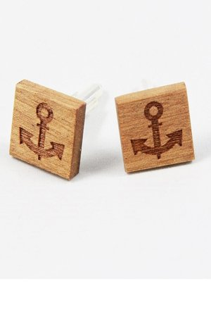 Drewniane spinki do mankietów #10 - 68893