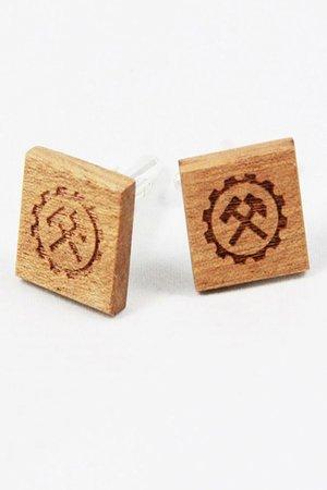Drewniane spinki do mankietów #11 - 69257