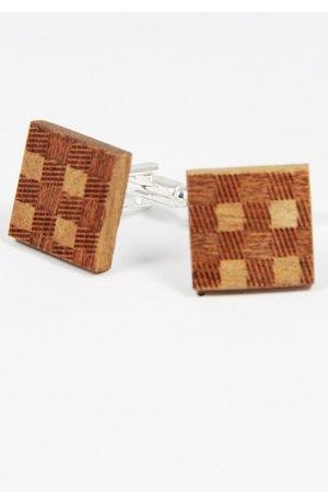 Drewniane spinki do mankietów #3 - 69259