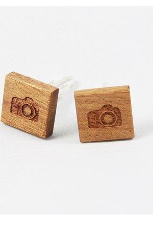 Drewniane spinki do mankietów #8 - 69265