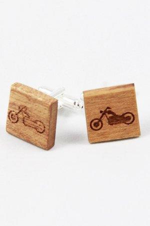 Drewniane spinki do mankietów #9 - 69266