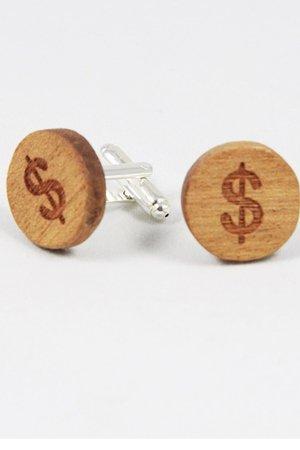 Drewniane spinki do mankietów #15 - 69267