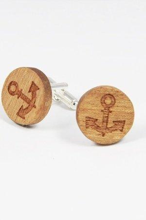 Drewniane spinki do mankietów #17 - 69271
