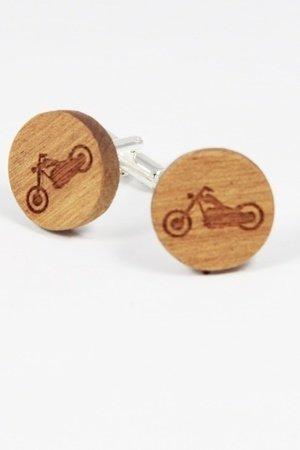 Drewniane spinki do mankietów #18 - 69272