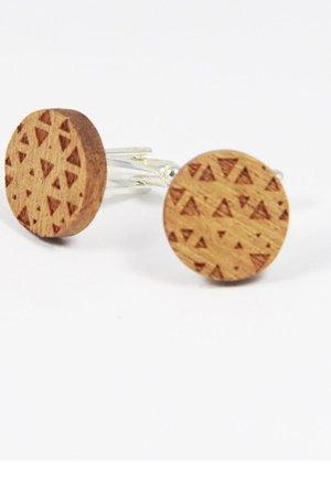 Drewniane spinki do mankietów #21 - 69274