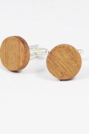 Drewniane spinki do mankietów #24 - 69278