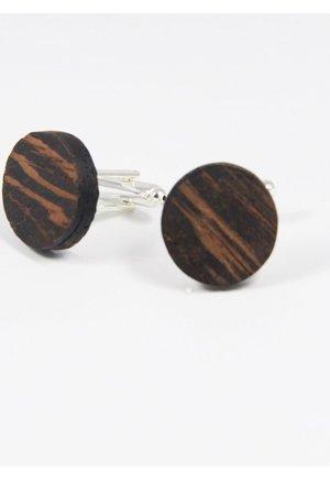 Drewniane spinki do mankietów #25 - 69279