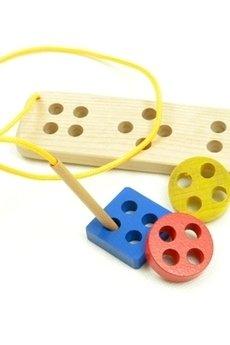 Tarnawa Toys - Sznurowane guziki Montessori