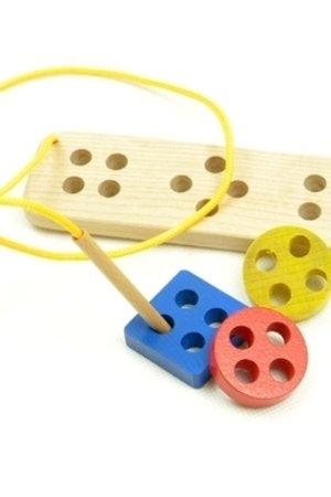 Sznurowane guziki Montessori - 12167