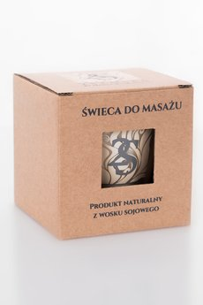 2 senses by Marta Rynkiewicz - Świeca do masażu 2 senses  Bergamotka i Werbena